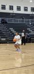 Girls Varsity Basketball falls to Hampton 49 – 45