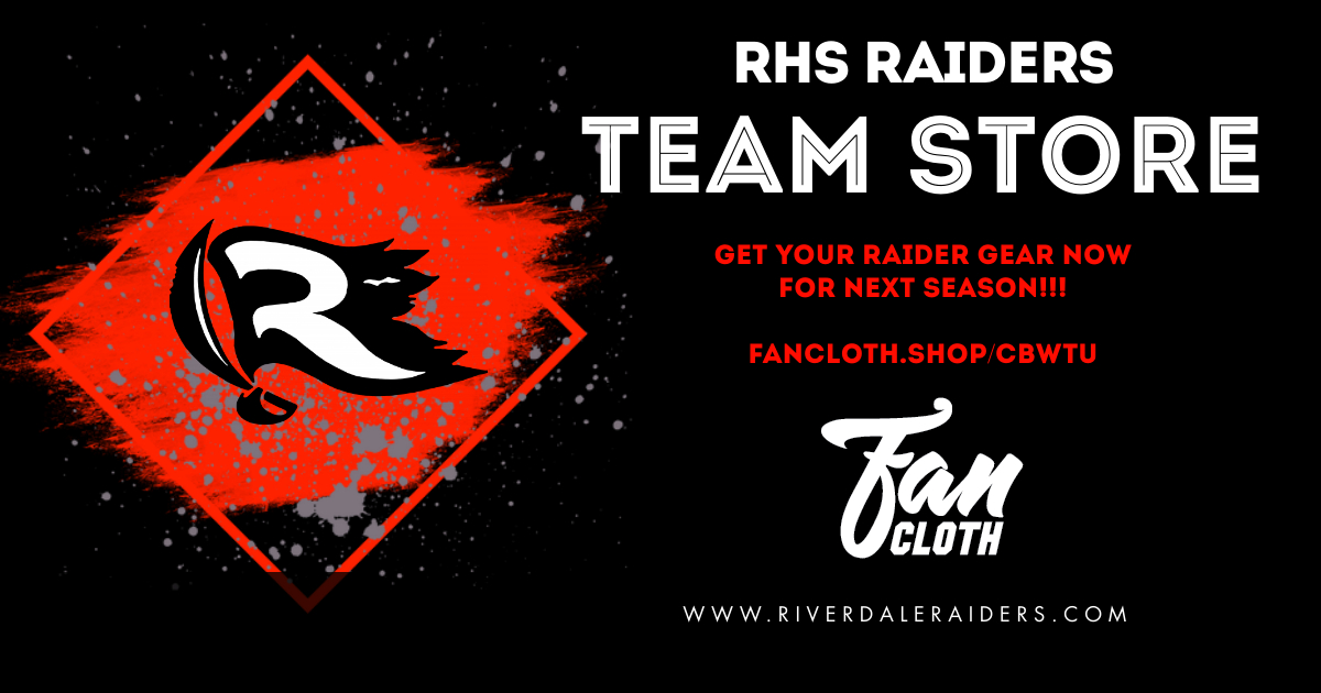 Team Store – OPEN FOR BUSINESS!!!!