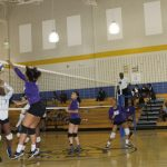 Volleyball Team Wins Against McMain