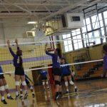 Lady Eagles Defeat St. Mary's Academy in 5 Sets