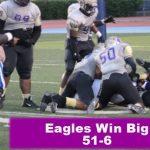 Eagles Win Big
