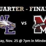 Quarter Finals: Eagles vs Crimson Tide