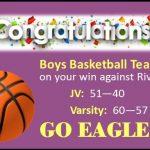 Congrats Eagles ! !