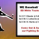 Eagles Baseball Team in ED White Tournament