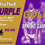 Purple & Gold Spring Game
