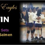 Lady Eagles Win in 4 Sets Over Salmen