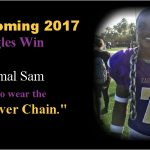 Damien Tate and Jahmal Sam Combine for 4TDs in Homecoming Rout