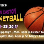 This Week in Easton Basketball