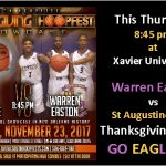 Eagles in the Thanksgiving HoopFest Showcase