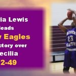 Cabria Lewis carries Easton to rout of Cecilia in LHSAA playoffs