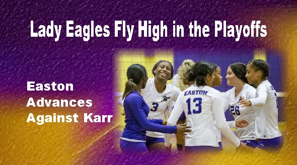 Lady Eagles Flying High in the Playoffs