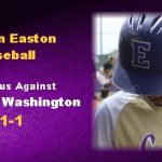 Easton Baseball Wins against Booker T