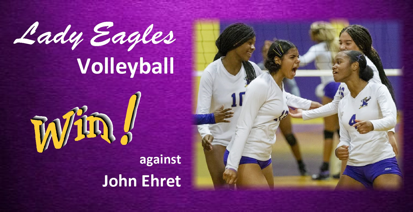 Lady Eagles Volleyball Team Opens 2020 Season with a Victory