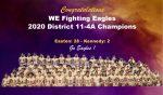 Eagles: District 11-4A District Champions