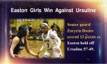 Easton Girls Win Against Ursuline