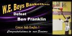 Boys Basketball Wins on Senior Night