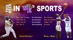 This Week In WE Sports