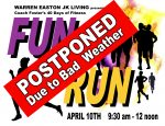 Fun Run Postponed