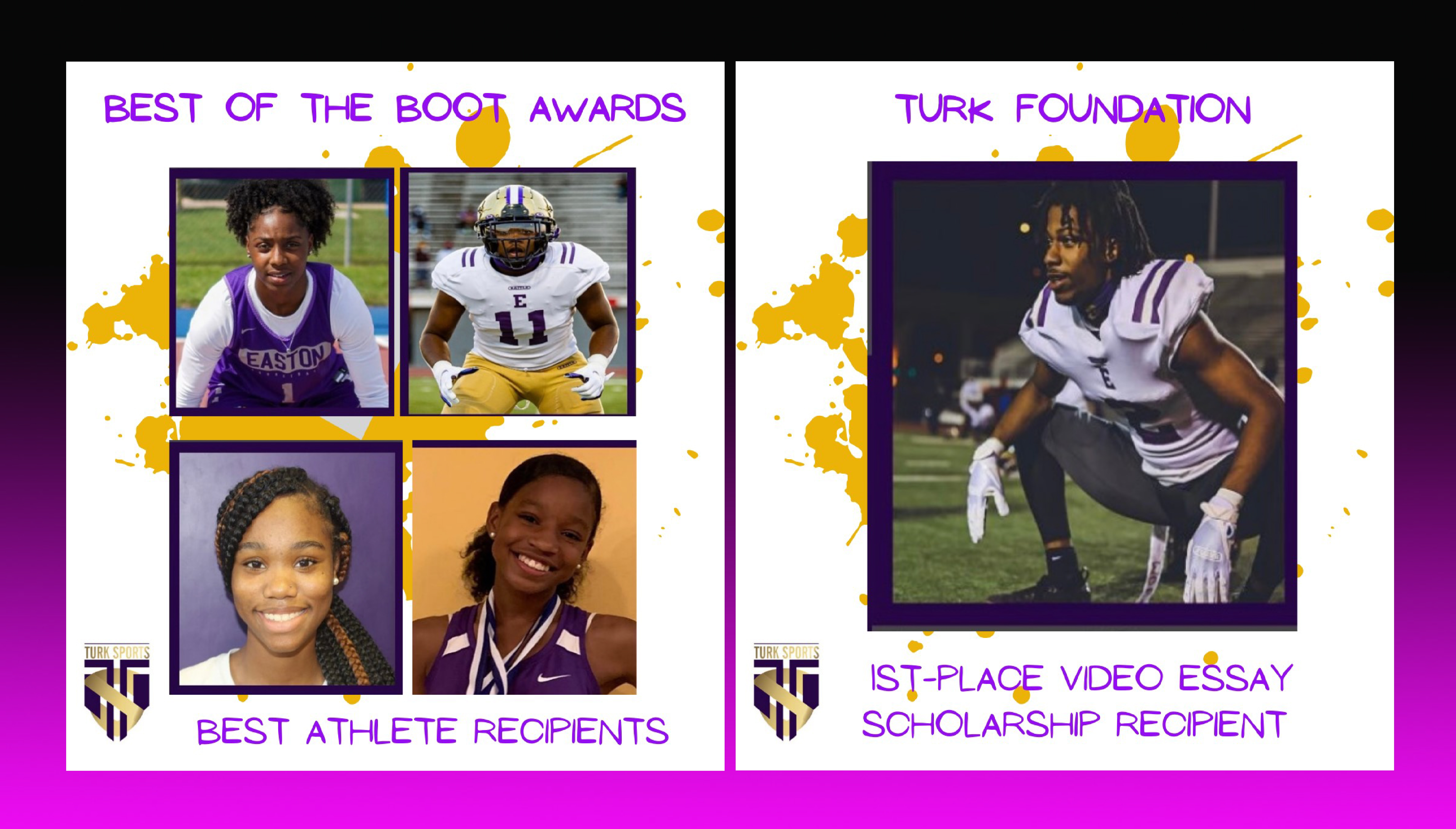 Eagle Athletes Win Best of the Boot Awards