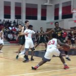 Boys Hoops Battled St. Edward Before Packed House