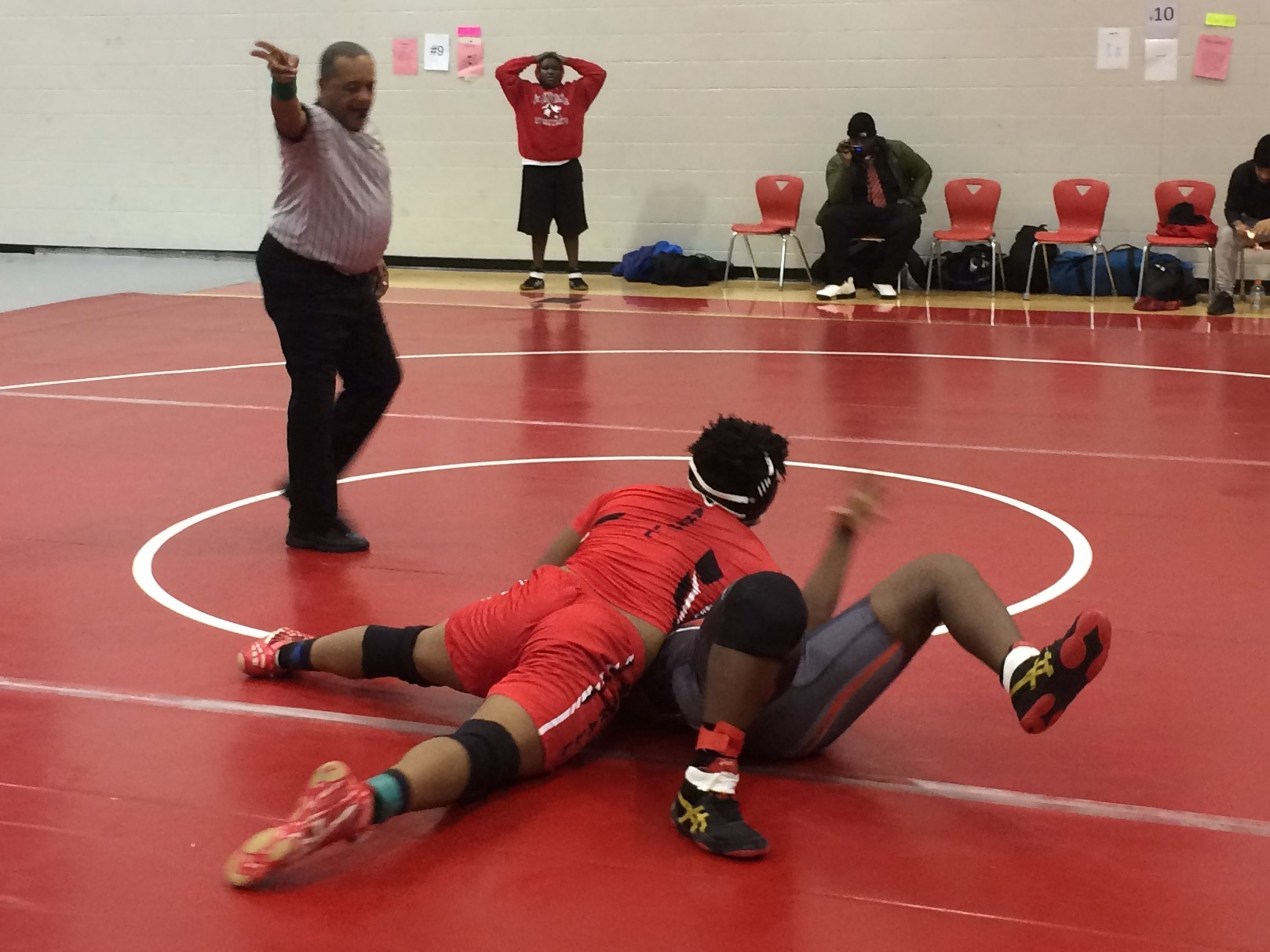 Wrestling Sweeps Pair of Matches