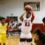 Jonesboro High School Boys Varsity Basketball beat Mount Zion High School 55-40