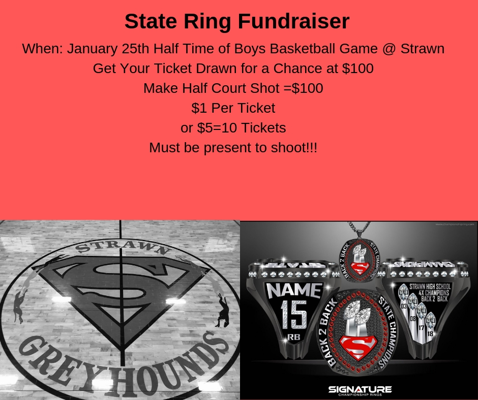 Football State Ring Fundraiser