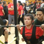 Powerlifting Girls Receive White Lights at Edinburg meet
