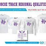 Regional Track Shirts!