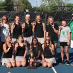 Lady Lions Tennis WIN REGION!