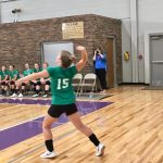 Franklin County's first ever Volleyball team plays first match