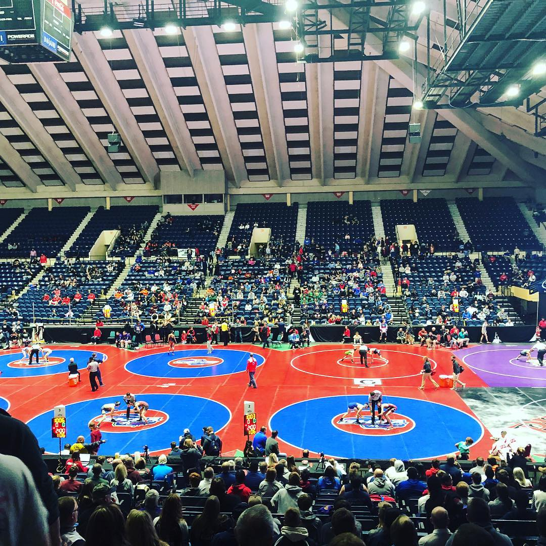 Matt Pressley Storms into Semifinals of State Wrestling Tourney