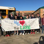 Lions Cross Country Team at State Finals