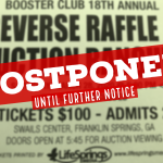 Booster Club 18th Annual Reverse Raffle @ Auction Postponed until further notice