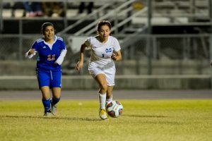 On a COLD Jan night the Mulberry varsity girls were HOT, beating Hardee 3-0