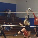 Mulberry High School Girls Varsity Volleyball beat Lake Wales High School 3-0