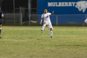The Mulberry Panthers JV and Var Girls Soccer teams struggled against the McKeel Wildcats each losing 8-0