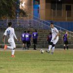 The MHS Varsity Soccer Team held the Tenoroc Titans to a scoreless game winning 7-0