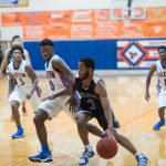 The MHS Boys Varsity Basketball team faced off against the Bartow Yellow Jackets but lost 75-36