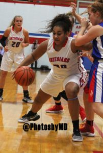 Martinsville girls basketball v Indian Creek