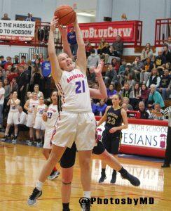 Martinsville girls basketball vs. Mooresville 11/22/16