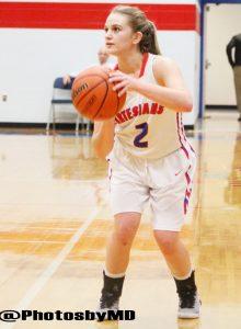 Martinsville girls basketball vs. Greenwood 12-3-16