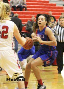 Martinsville girls basketball at Plainfield 12-16-16