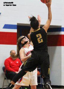 Martinsville girls basketball vs. Avon 1-14-17