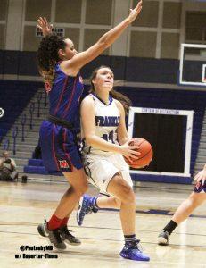 Martinsville girls' basketball at Franklin 1-24-17