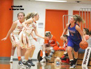 Martinsville girls' basketball at Columbus East 1-26-17