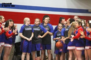 SECTIONALS Martinsville girls' basketball vs. Center Grove 2-1-17