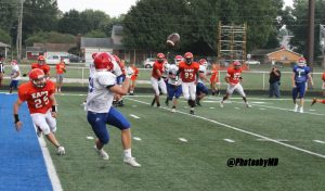 8/11/17 Martinsville Football vs. Columbus East (Scrimmage)