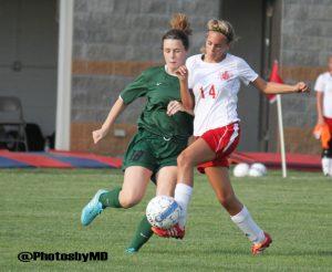 8//16/17 Martinsville Girls' Soccer vs. Greenwood