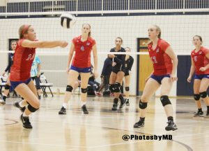 8/22/17 Martinsville Volleyball at Decatur Central